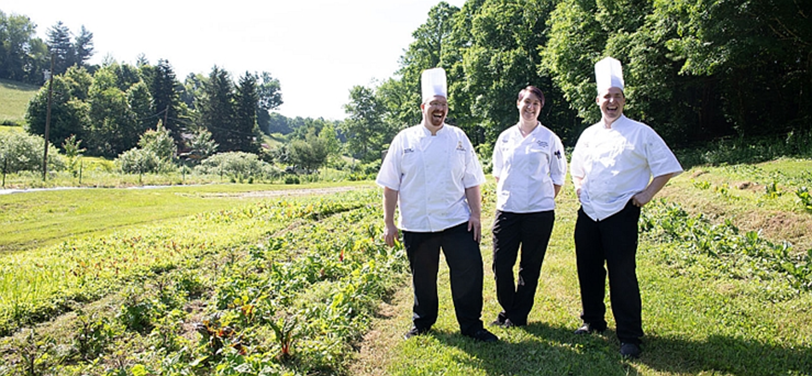Appalachian Food Services is purchasing produce from Appalachian State's farm to use in the University's dining halls (source: AppalachianToday).