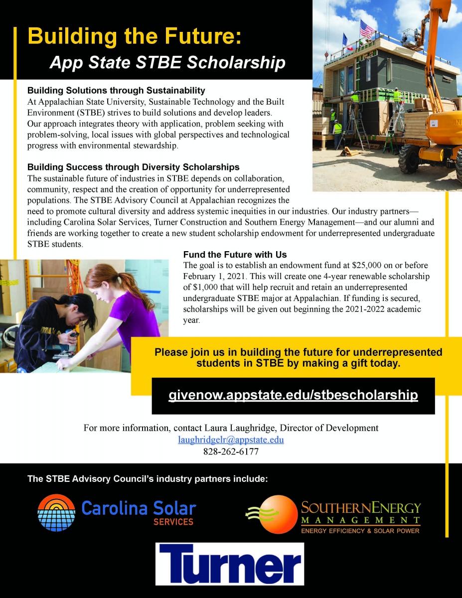 STBE Scholarship Flier