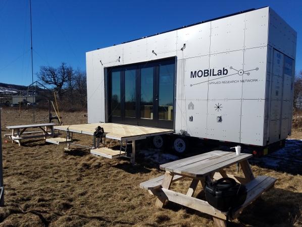 MobiLab at the North Carolina Small Wind Application Center at Beech Mountain