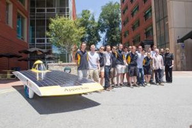 2016 Appalachian Solar Vehicle Team