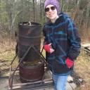 Graduate student Aaron Bradshaw