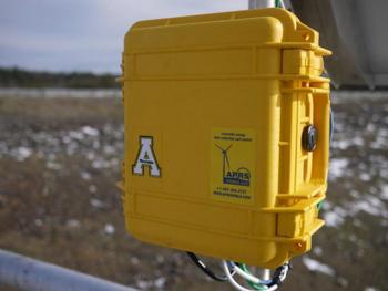 Wind measurement data logger