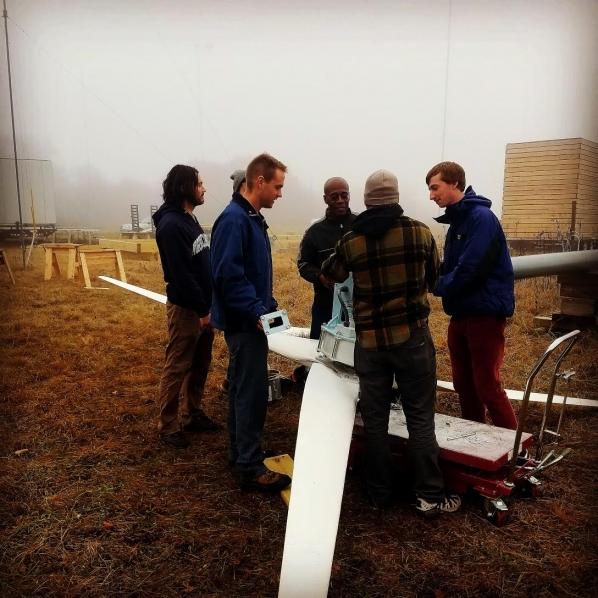 Sonlight prototype install at Beech Mountain