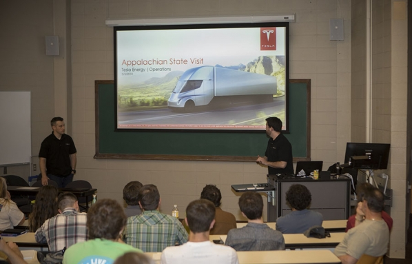 Tesla and Palmetto Recruit Appalachian Students