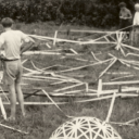 Supine Dome (1948) at Black Mountain College from bfi.org