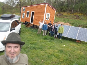 Photovoltaics II Class Spring 2019 applied their knowledge by designing and installing an off-grid solar electric system for a real world client.