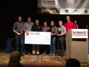 Building Science Student Team Wins Second Place in Design/Build