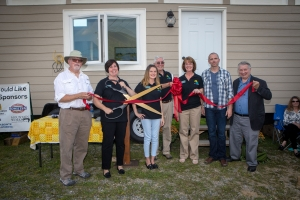 LIFE Village Tiny House Ribbon Cutting